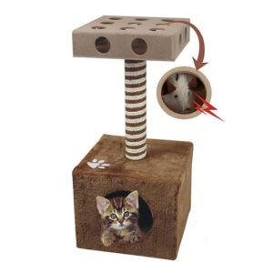 מתקן גירוד לחתול עם מבוך-0