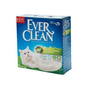 חול לחתולים אבר קלין מתגבש - ירוק ריחני 10 ליטר-0