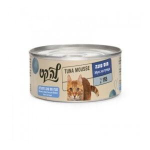 מעדן לחתול לה קט מוס בטעם טונה 155 גרם-0