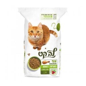 """מזון לחתולים לה קט עוף 9 ק""""ג-0"""