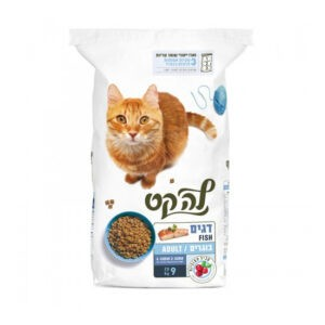 """מזון לחתולים לה קט דגים 9 ק""""ג-0"""