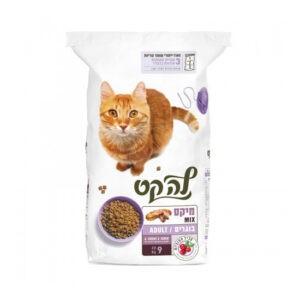 """מזון לחתולים לה קט מיקס 9 ק""""ג-0"""