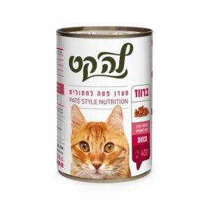 שימורי לה קט לחתול בטעם הודו 400 גרם-0