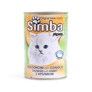 שימורי סימבה ארנבת לחתול 415 גרם-0