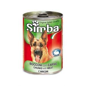 סימבה שימורי בשר לכלב 415 גרם-0