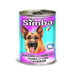 סימבה שימורי כבש לכלב 415 גרם-0