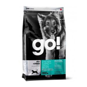מזון לכלבים בוגרים גו פיט על בסיס עוף הודו וסלמון-0