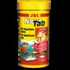 """מזון לדגים טבליות לשוכני קרקעית jbl נובו טאב 100 מ""""ל-894"""
