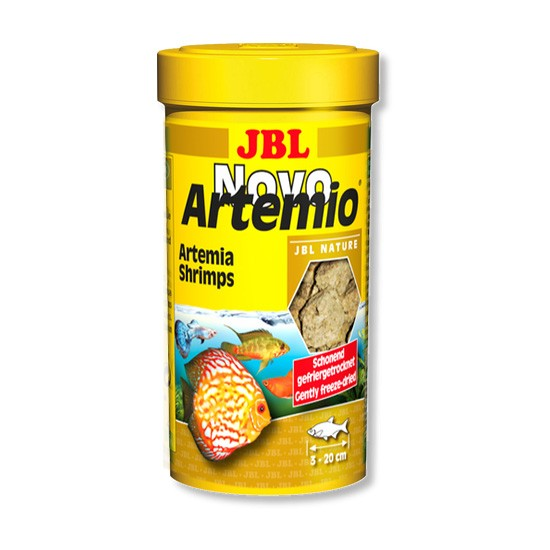"""מזון לדגים ארטמיה jbl נובו ארטמיו 250 מ""""ל-0"""