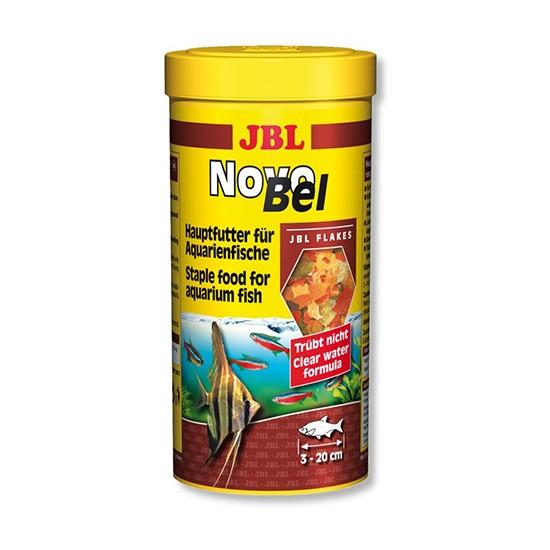 """מזון לדגים טרופיים jbl נובו בל 100 מ""""ל-0"""