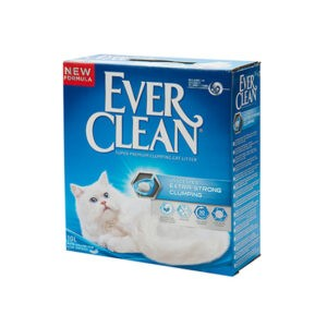 חול לחתולים אבר קלין - כחול מתגבש ללא בישום 6 ליטר-0