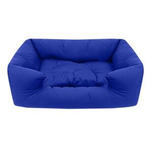 מיטה לכלב פטס-פרוג'קט מידה l צבע כחול רויאל-0