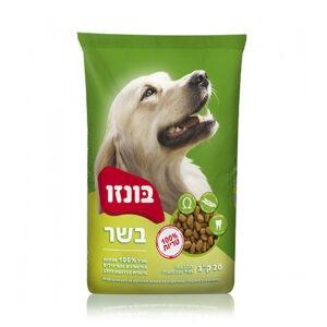 """מזון לכלבים בונזו בוגר על בסיס תירס ועוף 20 ק""""ג-0"""
