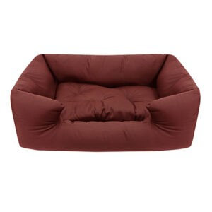 מיטה לכלב פטס-פרוג'קט מידה l צבע בורדו-0