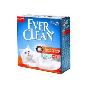 חול לחתולים אבר קלין מתגבש - מנטרל ריחות מהיר 10 ליטר-0