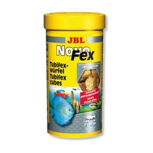 """מזון לדגים טבליות מיובשות ומוקפאות jbl נובו פקס 100 מ""""ל-0"""