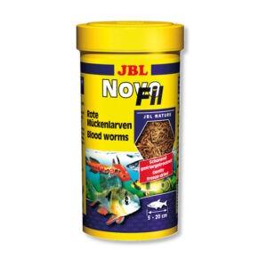"""מזון לדגים תולעי דם jbl נובו פיל 100 מ""""ל-0"""