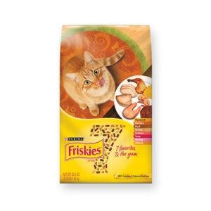 """מזון לחתולים פריסקיז מיקס טעמים על בסיס תירס 7 ק""""ג-0"""