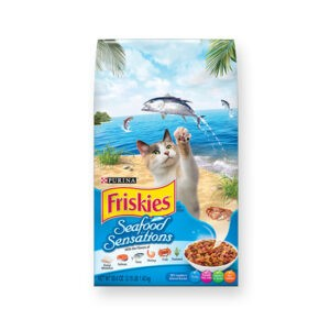 """מזון לחתולים פריסקיז מעדני הים על בסיס תירס 7 ק""""ג-0"""