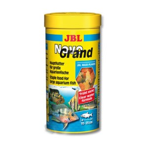 """מזון לדגים טרופיים jbl נובו גראנד 1000 מ""""ל-0"""