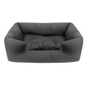 מיטה לכלב פטס-פרוג'קט מידה m צבע אפור-0