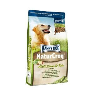 """מזון לכלבים הפי דוג נֶייצֶ'ר קְרוֹק טלה ואורז 15 ק""""ג-0"""