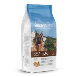 "מזון כלבים וינסנט דיאט עוף 15 ק""ג-0"