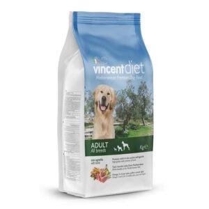 """מזון כלבים וינסנט דיאט טלה 15 ק""""ג-0"""