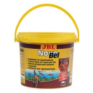 מזון לדגים טרופיים jbl נובו בל 10.5 ליטר-0