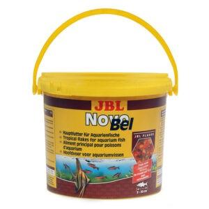 מזון לדגים טרופיים jbl נובו בל 5.5 ליטר-0