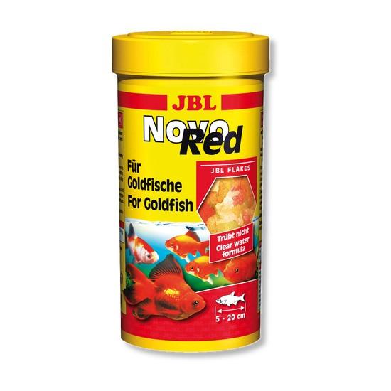 """מזון לדגי זהב jbl נובו רד 250 מ""""ל-0"""