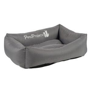 מיטה לכלב דוחת מים פטס-פרוג'קט מידה l צבע אפור-0