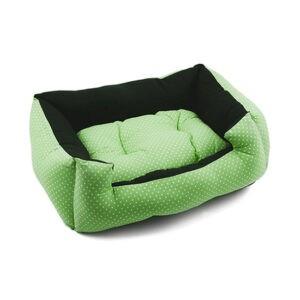 מיטה פטס-פרוג'קט מידה xs צבע ירוק נקודות-0