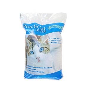 """חול לחתולים פרקטיקט מתגבש 14 ק""""ג-0"""