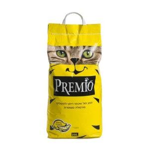 חול לחתולים פרמיו חיתולי - לימון 20 ליטר-0