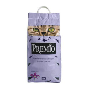 חול לחתולים פרמיו חיתולי - לבנדר 20 ליטר-0