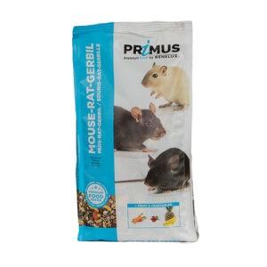 מזון לעכבר / חולדה / גרביל פרימוס 750 גרם-0