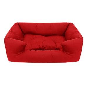 מיטה לכלב פטס-פרוג'קט מידה l צבע אדום-0