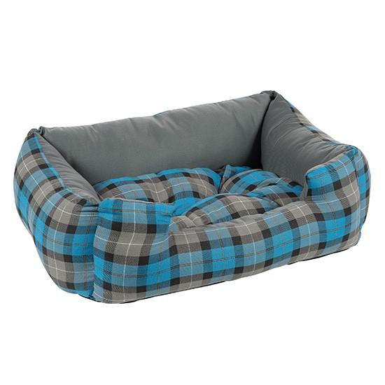 מיטה פטס-פרוג'קט מידה s צבע כחול רבועים-0