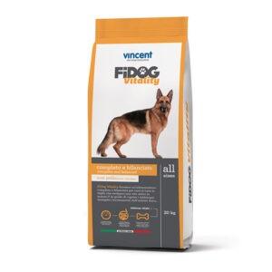 """מזון כלבים פידוג ויטליטי מועשר על בסיס עוף ובקר 4 ק""""ג-0"""