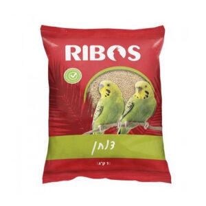"""מזון זרעי דוחן צהוב נקי ריבוס 1 ק""""ג-0"""