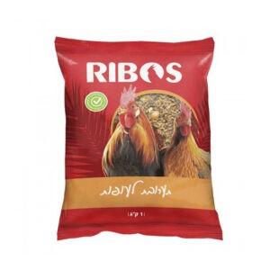 """מזון תערובת לעופות ריבוס 25 ק""""ג שק מגדלים-0"""