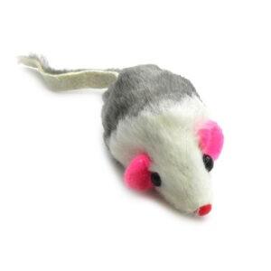צעצוע פשוט לחתול עכבר פרוותי-0