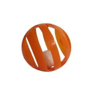 צעצוע פשוט לחתול כדור פעמון מרשרש-0