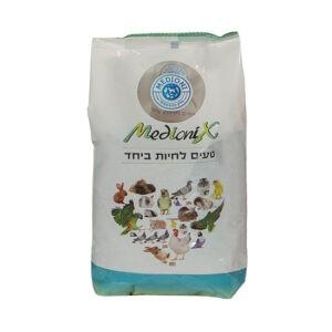 """מזון זרעי דוחן צהוב נקי מדיוניקס 4 ק""""ג-0"""
