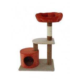 מתקן גירוד לחתולים 3 קומות מיטת פינוק-0
