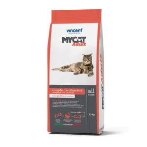 """מזון לחתולים מאי קט עוף ובקר 12 ק""""ג-0"""