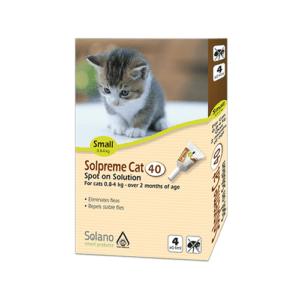 """מארז מבצע 4+1 אמפולות סולפרם לחתול קטן 0.8-4 ק""""ג-0"""