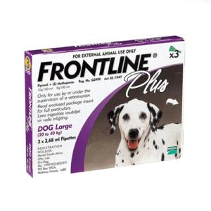 """פרונטליין פלוס לכלב גדול 20-40 ק""""ג-0"""