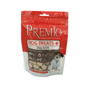 חטיף פרמיו סושי לכלב 100 גרם-0